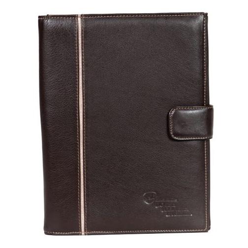 A4 Leather 3 Fold Folder V1285
