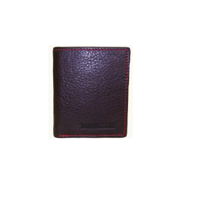 Bifold Credit Card Leather Wallet V2164