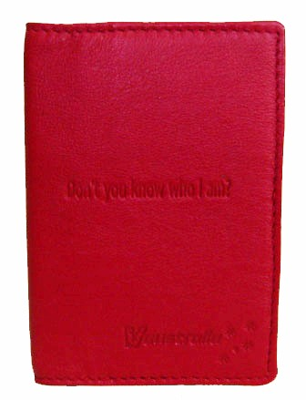 Leather Passport cover V304