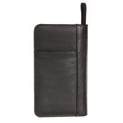 Leather Zip Travel wallet V447