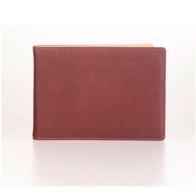 A5 Landscape Leather Menu Cover V1665