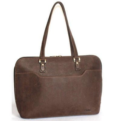 VHB611 Jess Leather Laptop Bag
