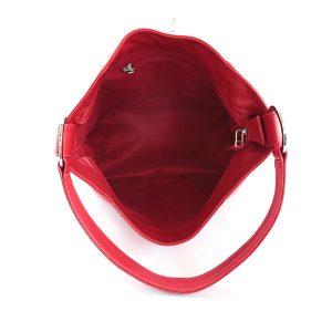 VHB768 Debbie Leather Hobo Bag