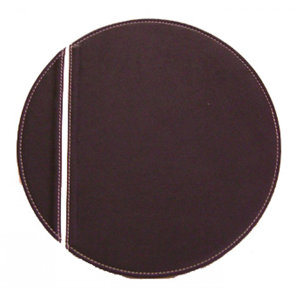 Leather placemat V2058