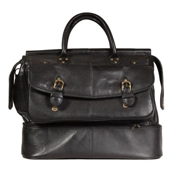 Leather golf bag VB273