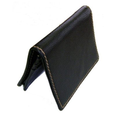 Leather business card holder V1007