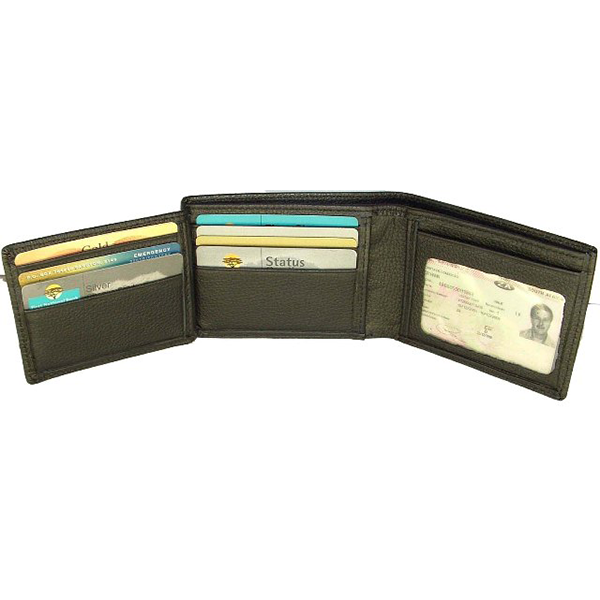 Leather Mens wallet V109