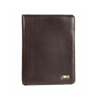 A4 Leather Zip Folder V1252