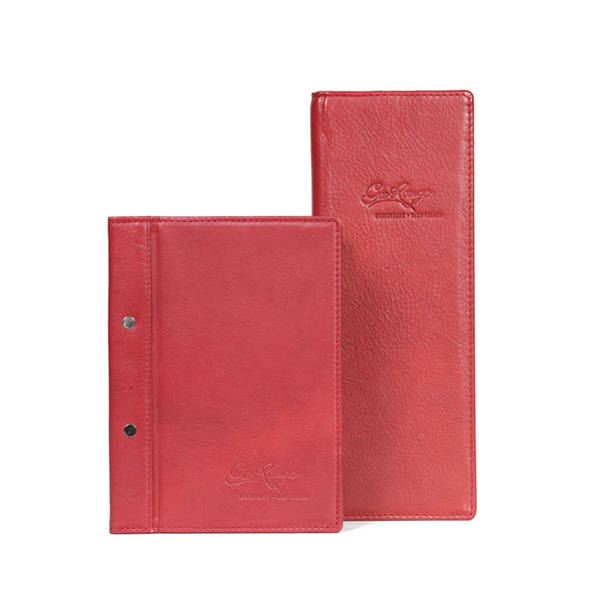 Leather menu V1356