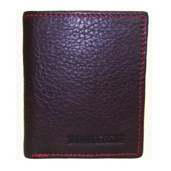 Bifold Credit Card Leather Wallet V2164