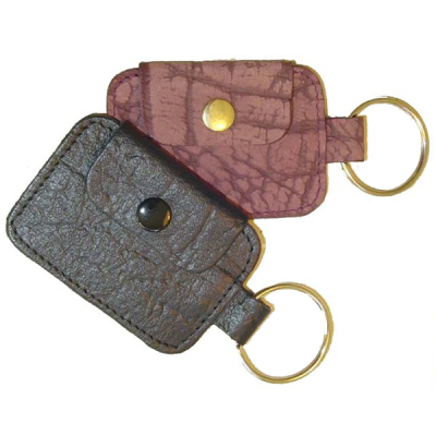Leather Keyring V236