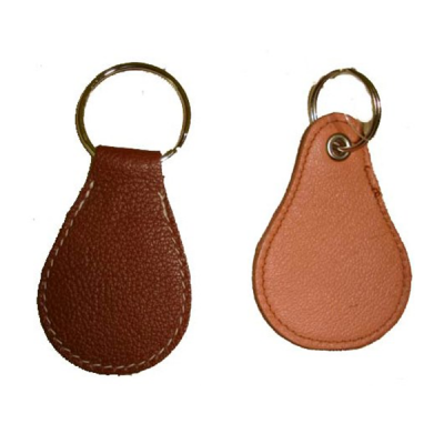 Leather Keyring V237