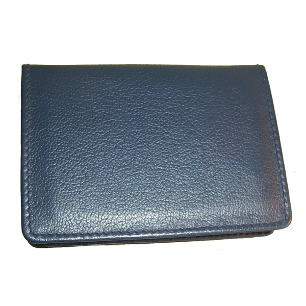 Leather Business card holder V265