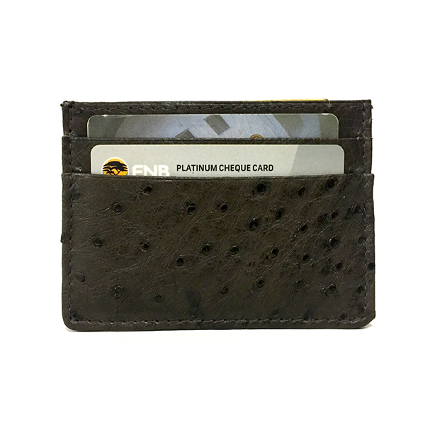 Leather Credit Card Holder V2942