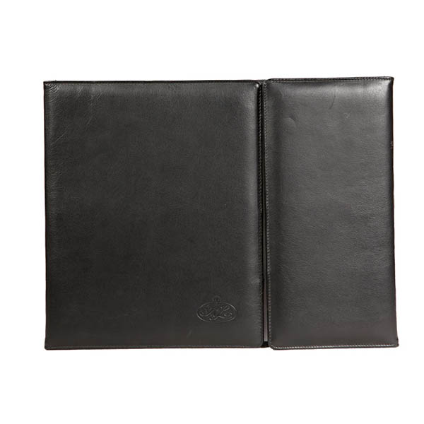 V409 Leather Stationery Desk Blotter