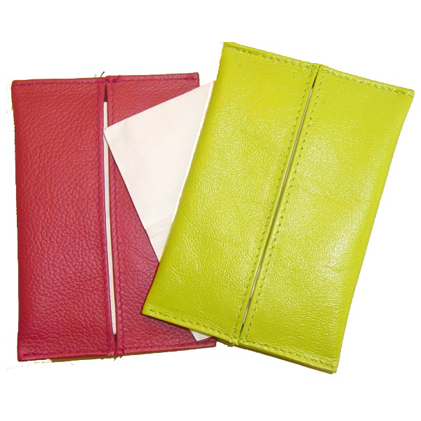 Leather Tissue pouch V432