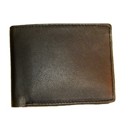 Mens Leather ID wallet V594