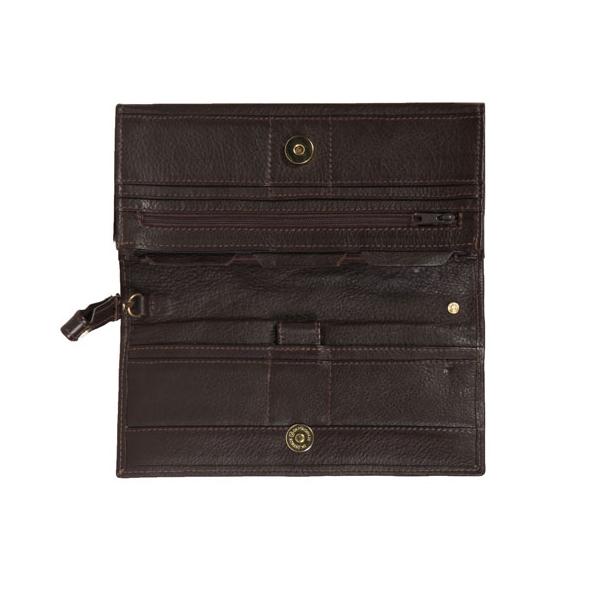 Leather Travel Wallet V706 Vermont Leathercraft