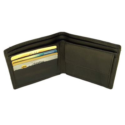 Mens Leather Coin Pouch Wallet V950