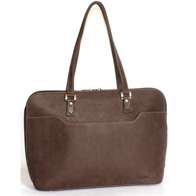 VHB611 Jess Leather Laptopbag