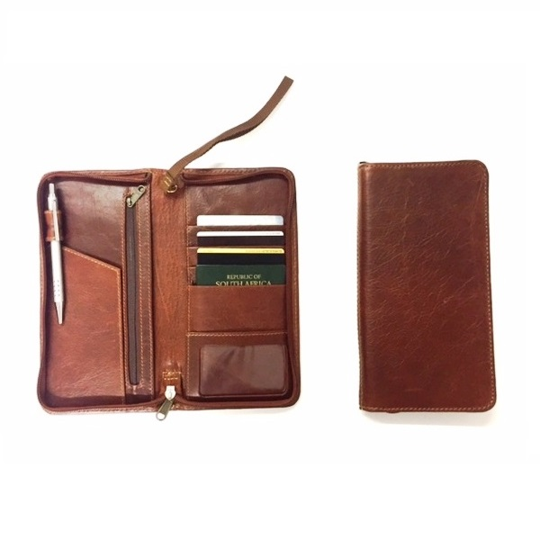 Zip Around Travel Wallet V1963