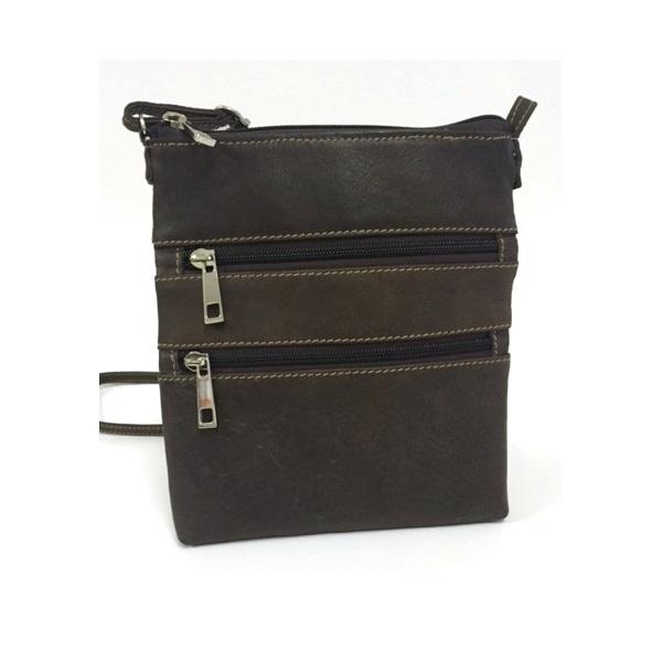 Lara Zip Pocket Crossbody Bag