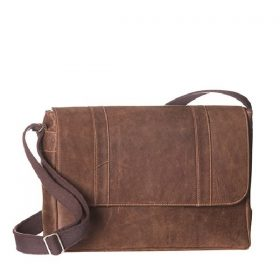 VHB825 Smith Leather Laptop Satchel