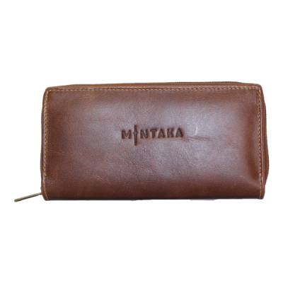 Tina Ladies Leather Zip Around Purse V2858