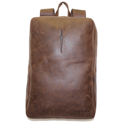 VHB693 Toni Leather Laptop Backpack