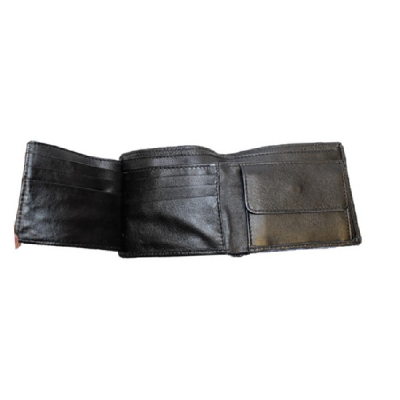 Leather Wallet with ID Flap V2986 Tim