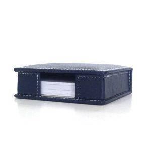 Leather Memo Block V2886